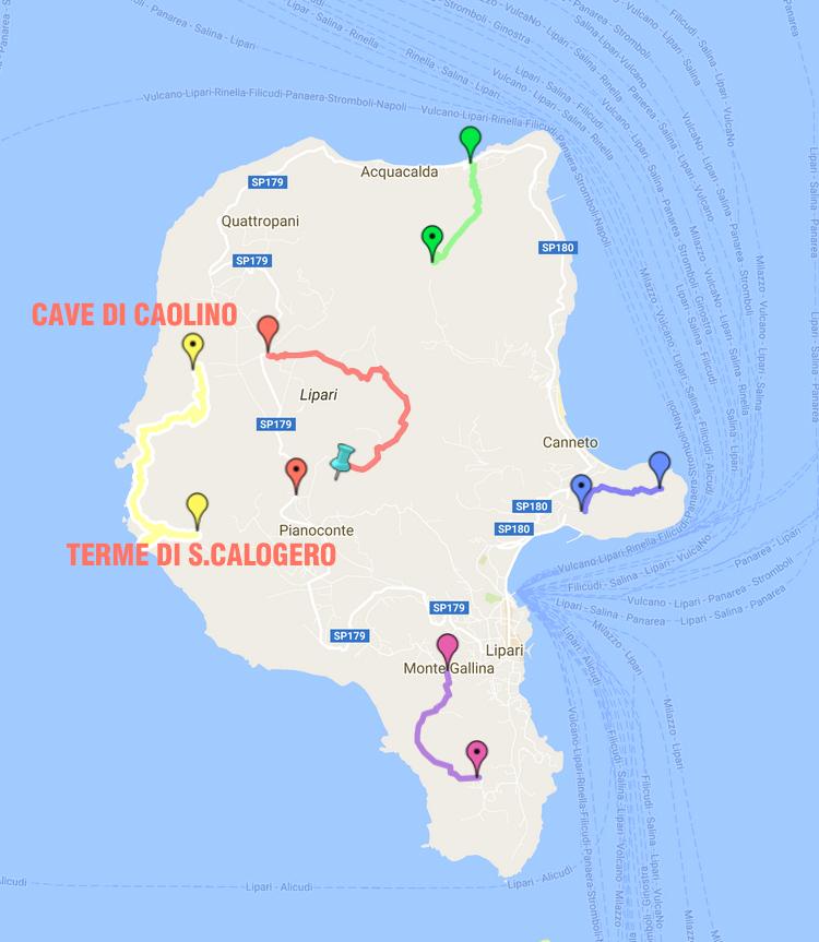 Trekking Tour nella natura a Lipari